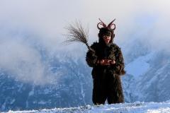Rollenträger vor Kulisse des Grimmings, Foto: Martin Huber